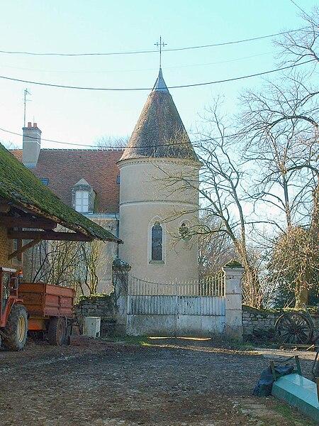 Provency (Yonne): ancienne abbaye de Marcilly