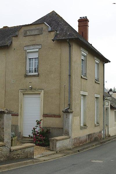 Mairie de Pruillé.