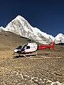 Pumori from Kala Patthar Heli landing pad.jpg