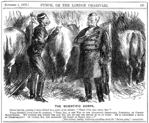 The Colonel (play) - One of the Punch cartoons featuring the colonel