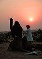 Pushkar Sunset (2058089003).jpg
