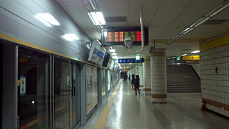 Seohyeon station - Station platform