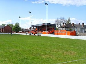 Bilston Town F.C. - Queen Street Main Stand