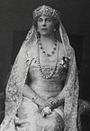 http://commons.wikimedia.org/wiki/File:Queen_Victoria_Eugenia_of_Spain.jpg