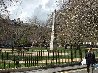 Queen Square, Bath - The 1738 Beau Nash Obelisk