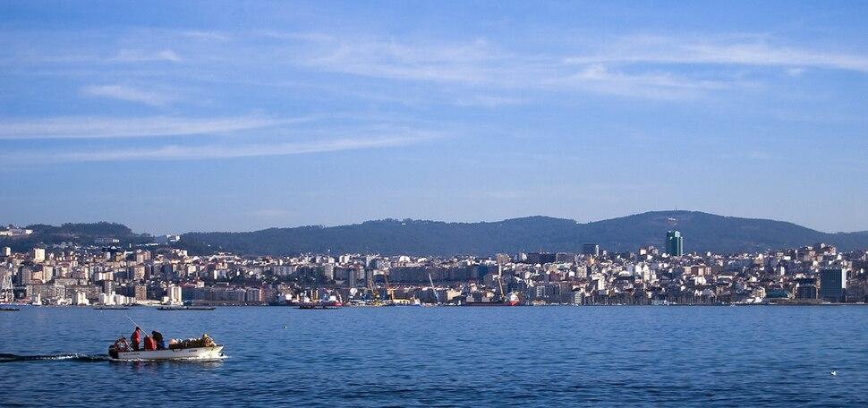 Ría de Vigo. Galiza