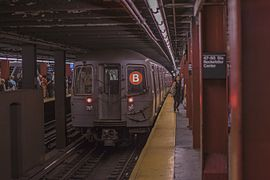 R68A Subway Car 5046, B, September 5th, 2014.jpg