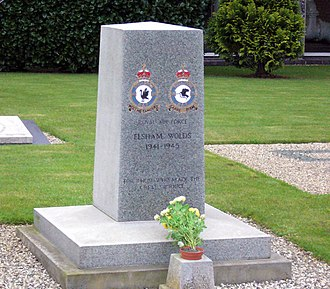 RAF Elsham Wolds - Memorial dedicated to those lost on operations
