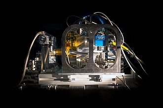 Infrared detector - Prototype of high-speed infrared detector installed on the PIONIER instrument at ESO's Paranal Observatory.