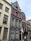 foto van Pand met hoge, natuurstenen trapgevel, laat gotisch