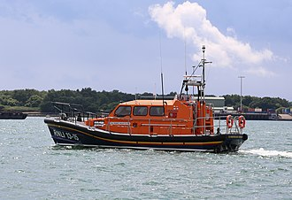 Shannon-class lifeboat - 13-15 RNLB Frederic William Plaxton