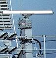 Radar antennas on USS Theodore Roosevelt SPS-64.jpg