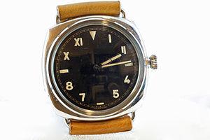 California dial - A California dial watch