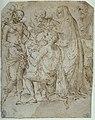 Raimondi - Darbringung eines Kindes durch einen Knienden vor einer männlichen Figur all'antica im Kreise weiterer Figuren, obj02020056.jpg