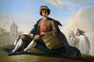 Boy with a Wicker Basket