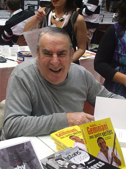 Géminiani at the 2010 Brive-la-Gaillarde book fair