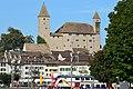 Rapperswil - Altstadt - Schloss - Seedamm-Bahnhof - Holzbrücke 2012-10-05 15-24-54 ShiftN.jpg
