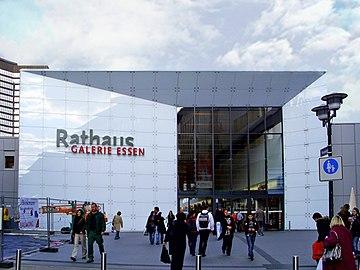 Rathaus Galerie Essen Wikipedia