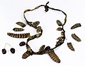 Rattlesnake rattle and seed necklace.jpg