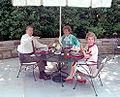 Reagans with historian Suzanne Massie.jpg
