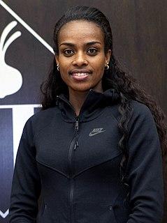 Genzebe Dibaba Ethiopian runner