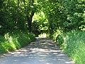 Reece Lane as it dives downhill towards Rakeshole Farm - geograph.org.uk - 844935.jpg