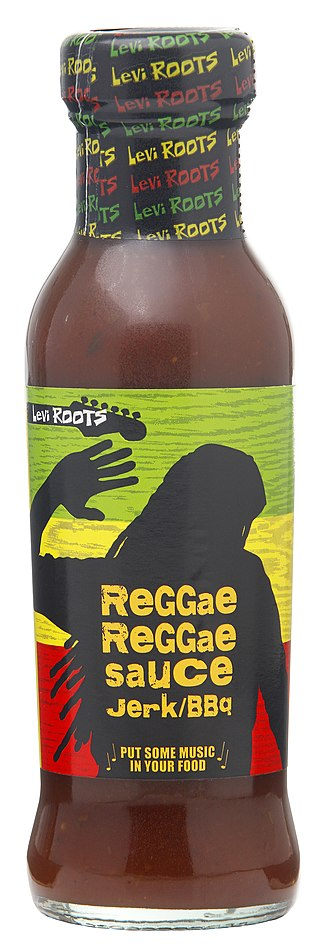Reggae Reggae Sauce - 2011 Levi Roots Reggae Reggae Sauce bottle