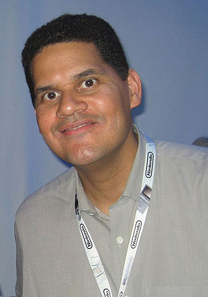 Nintendo of America's president Reginald Fils-...
