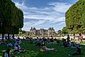 Relaxing in the Luxembourg Gardens (36140306245).jpg