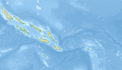 East Rennell is located in Solomon Islands