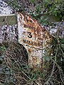 Remains of a rusty milepost, Ryeford - geograph.org.uk - 1116418.jpg