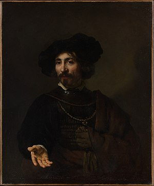 Benjamin Altman - Image: Rembrandt Portrait of a man with a steel gorget