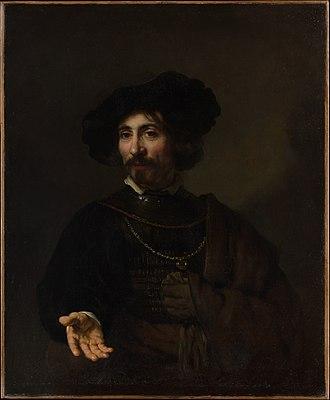 Benjamin Altman - Image: Rembrandt Portrait of a man with a steel gorget