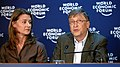 Remy Steinegger - World Economic Forum - Melinda French Gates, Bill Gates - World Economic Forum Annual Meeting Davos 2009 (by-sa).jpg