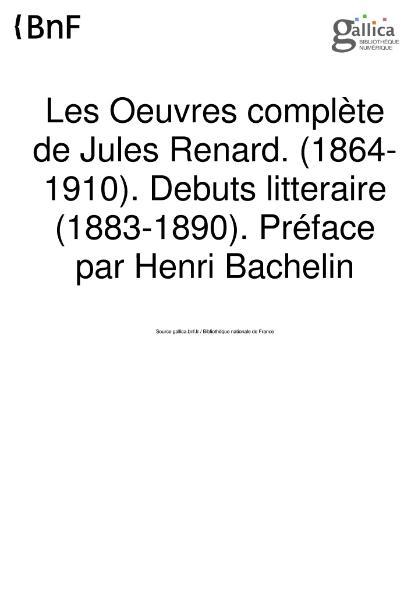 File:Renard Oeuvres completes 1 Bernouard.djvu