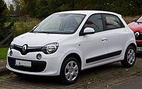Renault Twingo Dynamique (III) – Frontansicht, 24. Oktober 2015, Münster.jpg