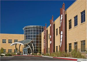 Reno-Sparks Indian Colony - Image: Reno Sparks Tribal Health Center