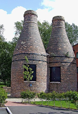 Stoke-on-Trent - Restored bottle kilns, Stoke-on-Trent
