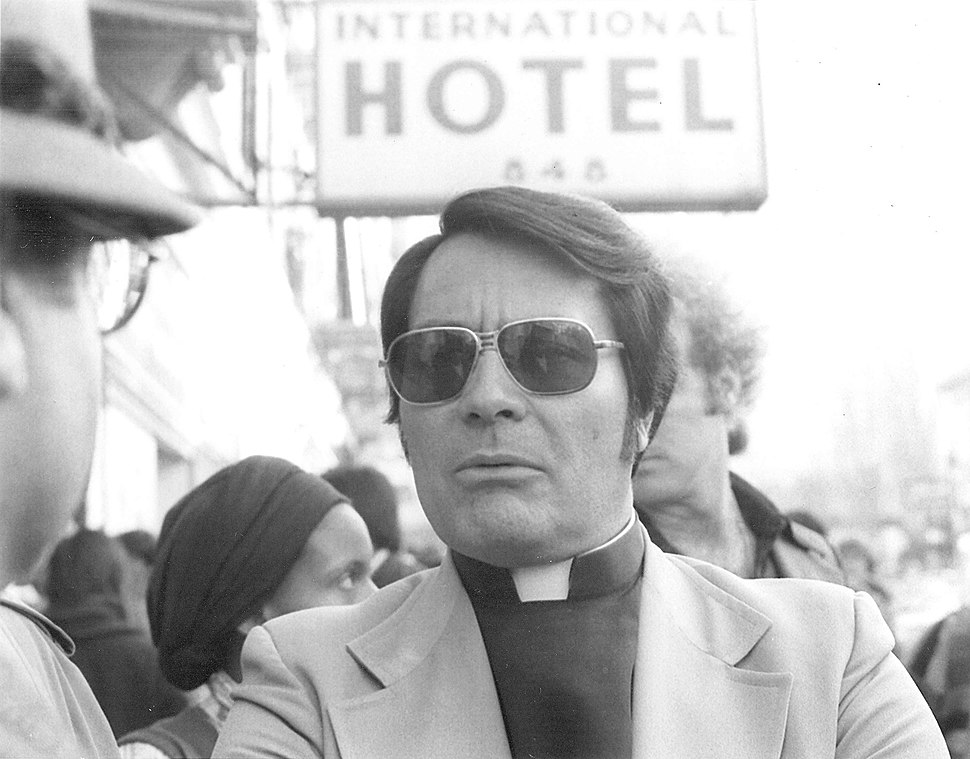 Rev. Jim Jones, 1977 (cropped)