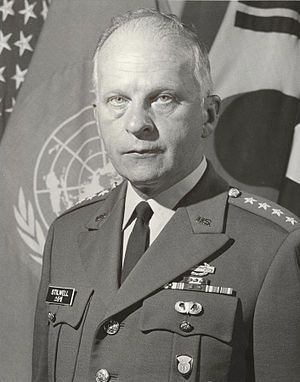 Richard G. Stilwell - Stilwell in South Korea