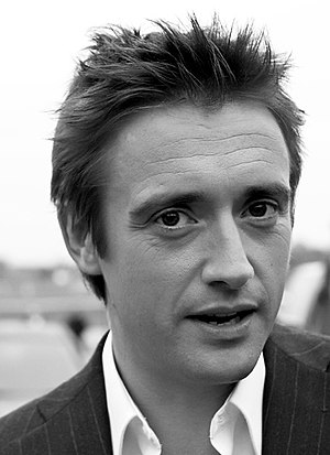 Picture of Richard Hammond, on the set of Top ...