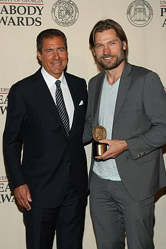 Richard Plepler - Image: Richard Plepler & Nikolaj Coster Waldau, May 2012 (1)