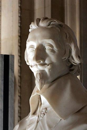 Bust of Cardinal Richelieu - Image: Richelieu le Bernin M.R.2165 mp 3h 9003