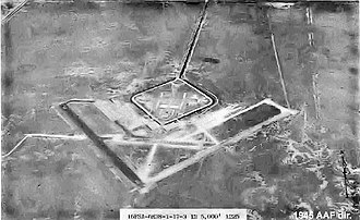 Airglades Airport - 1943 image of Riddle Field