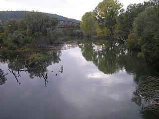 Krupa (Neretva) River in Bosnia and Herzegovina