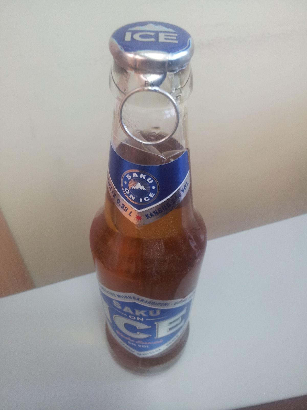 Pull-off bottle cap