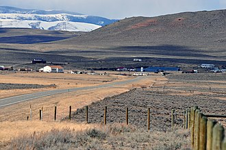 Ringling, Montana - Ringling from the south
