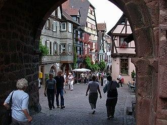 Riquewihr - Main street