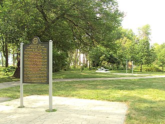 River Raisin National Battlefield Park - Image: River Raisin National Battlefield Park 3
