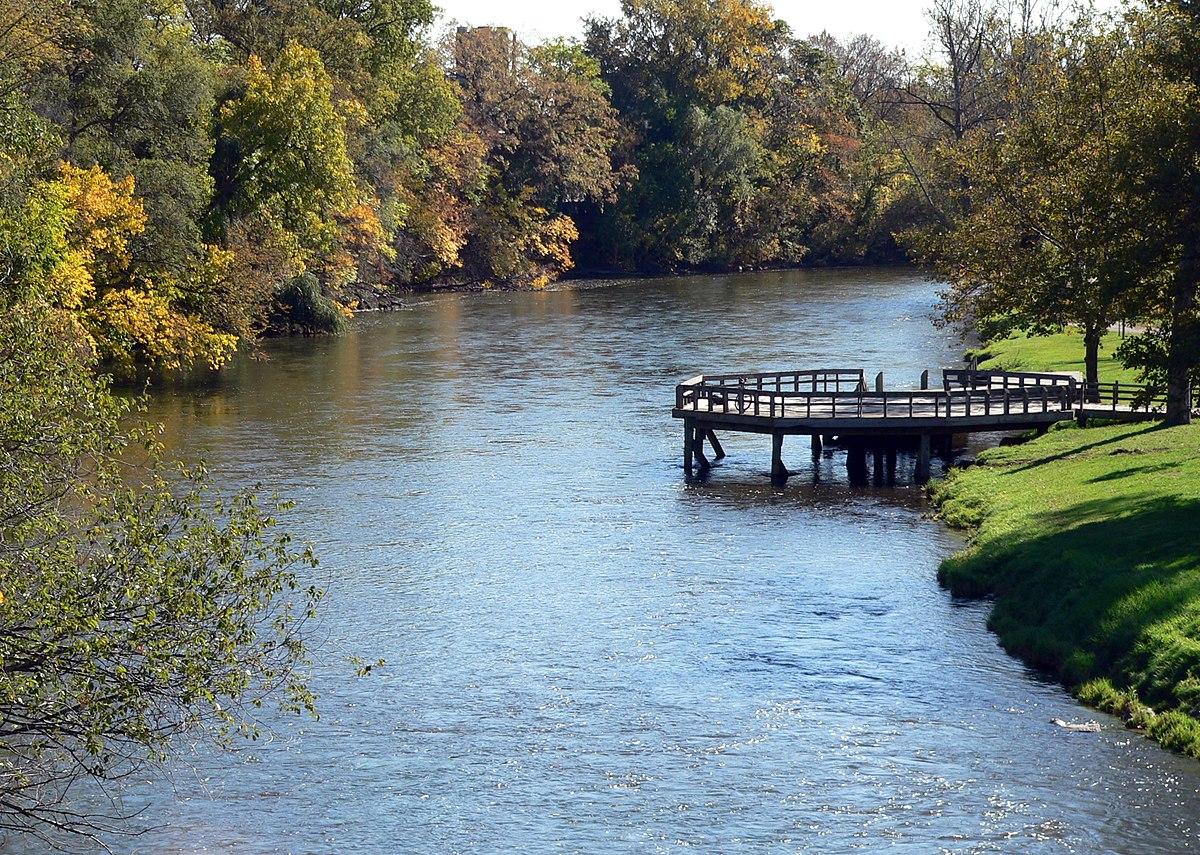 Huron river michigan wikipedia for The riverside